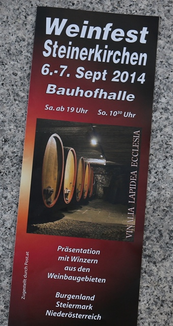 Weinfest Steinerkirchen 2014